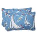 <strong>Pillow Perfect</strong> Set Sail Throw Pillow (Set of 2)