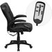 Flash Furniture Mid-Back Mesh Executive Swivel Office Chair with Arms
