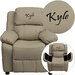 <strong>Kids Personalized Deluxe Recliner</strong> by Flash Furniture