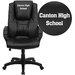 <strong>Personalized Leather Executive Office Chair</strong> by Flash Furniture