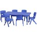 <strong>Rectangular Activity Table</strong> by Flash Furniture