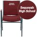 <strong>Flash Furniture</strong> Hercules Series Heavy Duty Personalized Upholstered Stackable Chair with Arms
