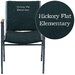 <strong>Flash Furniture</strong> Hercules Series Personalized Heavy Duty Upholstered Stackable Chair with Arms