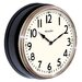 """<strong>12"""" Round Vintage Kitchen Classic Clock</strong> by Westclox"""