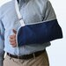 Arm Sling with Metal Buckle in Navy