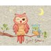 <strong>The Little Acorn</strong> Baby Owls Sweet Dreams Canvas Art