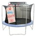 <strong>Upper Bounce</strong> 14' Trampoline Enclosure Safety Net Fits For 14 FT. Round Frames Using 4 Arches, with Sleeves on top (poles not included)