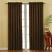 Plush Solid Curtain Single Panel