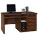 <strong>Martin Home Furnishings</strong> Huntington Oxford Single Pedestal Computer Desk