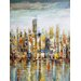 <strong>Downtown Painting Print on Canvas</strong> by Moe's Home Collection
