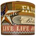 """<strong>11"""" Joy Inspired Americana Drum Shade</strong> by Illumalite Designs"""