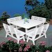 <strong>Portsmouth Square Dining Table</strong> by Seaside Casual