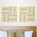 <strong>Jonathan Adler Aztec Diamond Blox Wall Decal</strong> by WallPops!