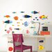 <strong>WallPops!</strong> Art Kit Fish Tales Wall Decal