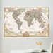 <strong>Art Kit National Geographic World Map Wall Mural</strong> by WallPops!