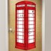 <strong>WallPops!</strong> Dry Erase London Phone Booth Giant Wall Decal
