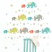 <strong>Art Kit Tag Along Elephants Wall Decal</strong> by WallPops!
