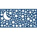 Home Décor Moon and Stars Glow in The Dark Wall Sticker