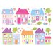 <strong>Brewster Home Fashions</strong> Fun4Walls Stikarounds Happy Street Wall Decal