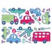 <strong>Fun4Walls Stikarounds Beep Beep Wall Decal</strong> by Brewster Home Fashions