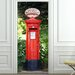 <strong>Brewster Home Fashions</strong> Ideal Décor Postbox Wall Mural