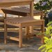 Siena Wood Picnic Bench
