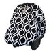 Itzy Ritzy Peek-A-Boo Pod Infant Carrier Moroccan Nights Car Seat Handle