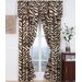 Brown Zebra Window Treatment Collection