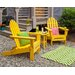 <strong>Classic Folding 3 Piece Adirondack Seating Group</strong> by POLYWOOD®