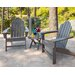<strong>POLYWOOD®</strong> Long Island 3 Piece Adirondack Seating Group