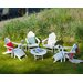 <strong>POLYWOOD®</strong> Long Island 9 Piece Conversation Adirondack  Seating Group