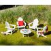 <strong>POLYWOOD®</strong> Long Island 5 Piece Conversation Adirondack Seating Group