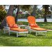 South Beach 3 Piece Chaise Lounge Seating Group by POLYWOOD®