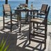 <strong>POLYWOOD®</strong> Coastal 5 Piece Bar Dining Set
