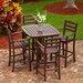 <strong>POLYWOOD®</strong> La Casa Café 5 Piece Dining Set