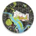 "<strong>City on a Plate 12"" Washington D.C. Dinner Plate</strong> by notNeutral"