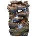 <strong>Fiberglass Rainforest Waterfall Fountain</strong> by Alpine