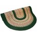 <strong>Thorndike Mills</strong> Pioneer Valley II Autumn Wheat with Dark Green Solids Multi Round Outdoor Rug