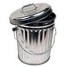 <strong>Galvanized Garbage Pail</strong> by Norwesco