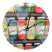"<strong>Lexington Studios</strong> Home and Garden 10"" Bubbles Wall Clock"