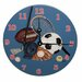 Little Athlete Decorative Wall Clock