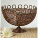 <strong>Kindwer Round Beaded Decorative Basket</strong> by St. Croix
