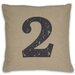 <strong>Numeral 2 Pillow</strong> by DR International