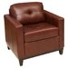<strong>Elements Fine Home Furnishings</strong> Carlton Top Grain Leather Chair