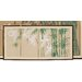 "<strong>Oriental Furniture</strong> 18"" x 36"" Bamboo Escape 4 Panel Room Divider"