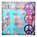 <strong>Peace Graphic Art on Canvas</strong> by Oriental Furniture
