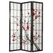 "<strong>72"" x 42"" Cherry Blossom Decorative 3 Panel Room Divider</strong> by Oriental Furniture"