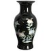 "12.25"" Fishtail Vase in Black"