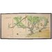 "Oriental Furniture 36"" x 72"" Birds and Flowers in the Garden 4 Panel Room Divider"