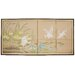 <strong>Birds on The Pond 4 Panel Room Divider</strong> by Oriental Furniture